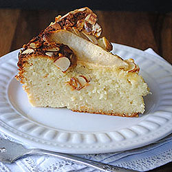 Almond Pear Cake