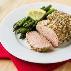 Almond-Crusted Pork Medallions
