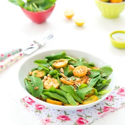 Arugula and Kumquats Salad