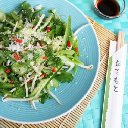 Asian Crunchy Veggie Salad