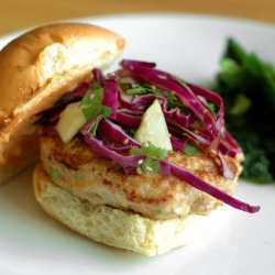 Asian-Inspired Turkey Burgers