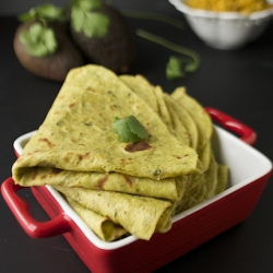 Avocado Paratha Indian Flatbread Recipe