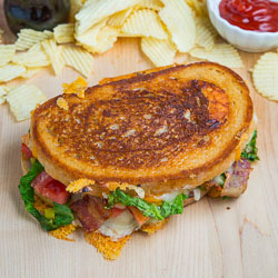 Bacon Cheeseburger Grilled Cheese