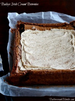 Baileys Irish Cream Brownies Recipe