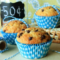 Bake Sale Chocolate Chip Muffins