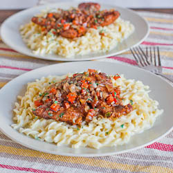 Balsamic Pork Scallopini