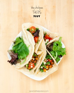 BBQ Chickpea Tacos Recipe