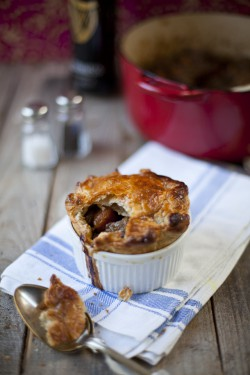 Beef and Guinness Pie!