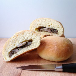 Beef and Onion Stuffed Potato Rolls Recipe