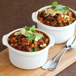 Black Bean Chili with Vegetables