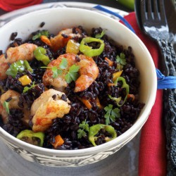 Black Venere Rice Stir-Fry
