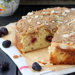 Blackberry Almond Coffee Cake