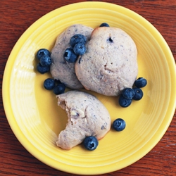 Blueberry Cream Cheese Muffin Tops