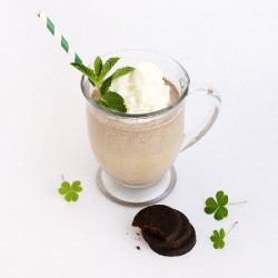 Boozy Thin Mint Milkshake