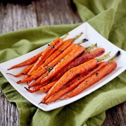 Butter Thyme Roasted Carrots