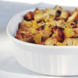 Butternut-Bacon Stuffing