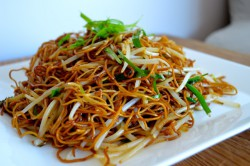 Cantonese Pan Fried Noodles Recipe