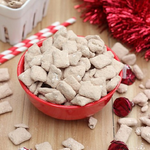 Cherry Cordial Muddy Buddies