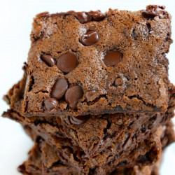 Chewy Chocolate Brownie Brittle