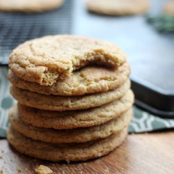 Chewy Rosemary Snickerdoodles