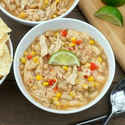 Chicken Corn and White Bean Chili Recipe