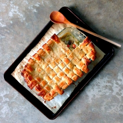 Chicken Pot Pie with Lattice Crust Recipe