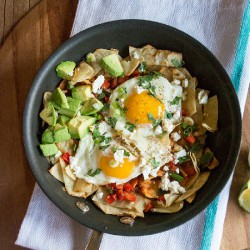 Chilaquiles with Chipotle Peppers