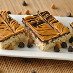 Chocolate Butterscotch Rice Krispie