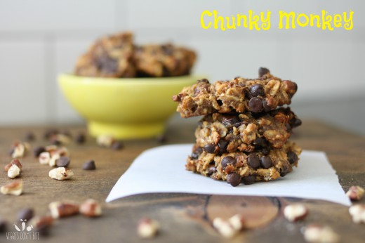 Chunky Monkey Date and Banana Oatmeal Cookies Recipe