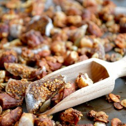 Chunky Nut and Fig Granola