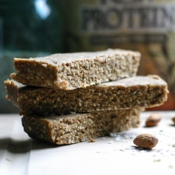 Coconut Almond Energy Bars Recipe