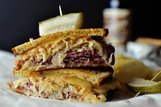Corned Beef Reuben Sandwich Recipe