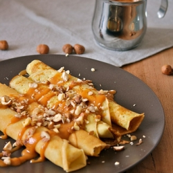 Crepes with Nuts