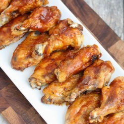 Crispy Baked BBQ Chicken Wings