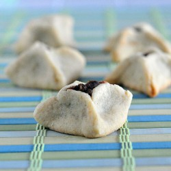 Date Filled Butter Cookies