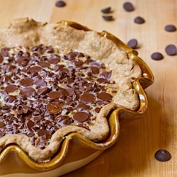 Double Chocolate Pecan Pie