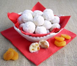 Dried Apricot Cookies