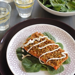 Everything Bagel-Crusted Salmon