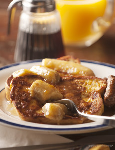 French Toast with Caramelized Bananas Recipe