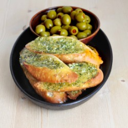 Garlic Bread Pan Con Ajo