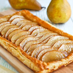 Ginger Pear Tart