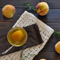 Ginger Saffron Peaches Recipe