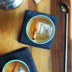 Ginger Spiced Rum Punch