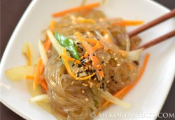 Glass Noodles with Mixed Vegetables Recipe