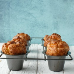 Gluten-Free Lemon-Herb Popovers