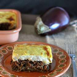 Greek Lamb Moussaka Recipe