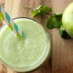 Green Apple Mint Smoothie