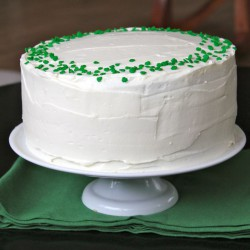 Green Velvet Baileys Cheesecake Cake Recipe
