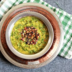 Greens With Lentils