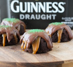 Guinness Cake with Guinness Ganache and Caramel Recipe